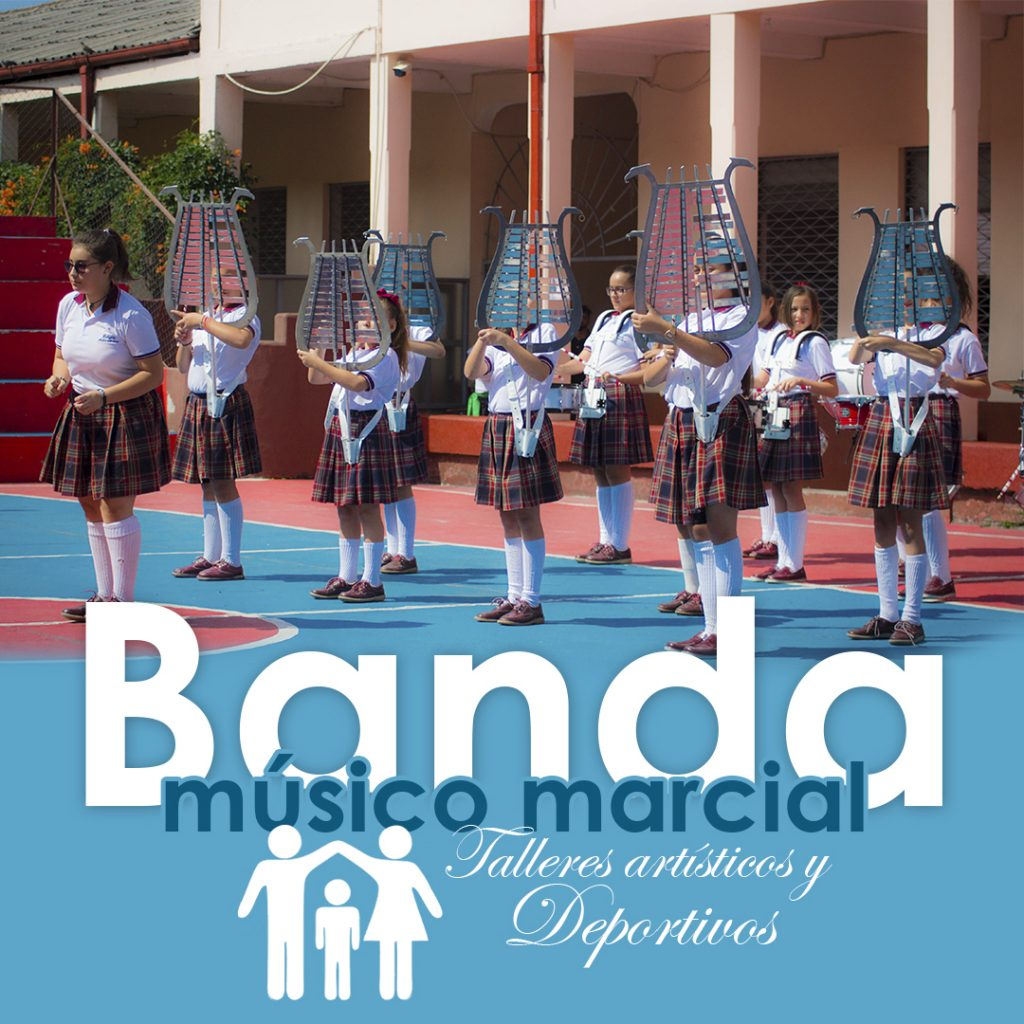 TALLER BANDA MÚSICO MARCIAL